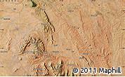 "Satellite Map of the area around 1°24'2""S,37°28'30""E"