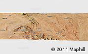 "Satellite Panoramic Map of the area around 1°24'2""S,37°28'30""E"