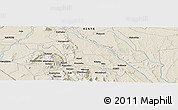 """Shaded Relief Panoramic Map of the area around 1°24'2""""S,37°28'30""""E"""