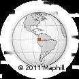 Outline Map of Zueylán, rectangular outline