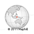 Outline Map of Pihingcado, rectangular outline
