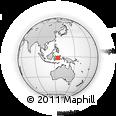 "Outline Map of the Area around 1° 55' 32"" S, 125° 1' 30"" E, rectangular outline"