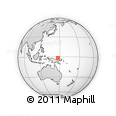 Outline Map of Drabito Number 1, rectangular outline