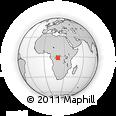 Outline Map of Baka, rectangular outline