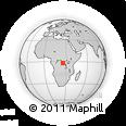 Outline Map of Mimbi, rectangular outline