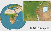 Satellite Location Map of Mamvu