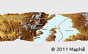 Physical Panoramic Map of Mamvu