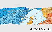 Political Panoramic Map of Mamvu