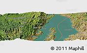Satellite Panoramic Map of Mamvu