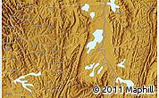 Physical Map of Kibungo