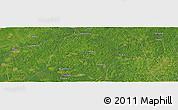 "Satellite Panoramic Map of the area around 1°55'32""S,48°22'30""W"