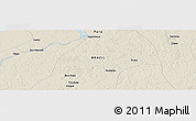 """Shaded Relief Panoramic Map of the area around 1°55'32""""S,48°22'30""""W"""