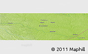 Physical Panoramic Map of Guayusa