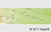 Physical Panoramic Map of Don Tomás