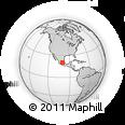 Outline Map of La Llave, rectangular outline