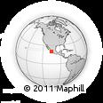 Outline Map of Yelapa, rectangular outline