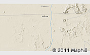 """Shaded Relief 3D Map of the area around 20°22'55""""N,35°46'29""""E"""
