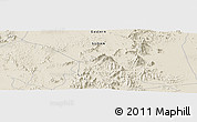 "Shaded Relief Panoramic Map of the area around 20° 22' 55"" N, 36° 37' 30"" E"