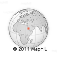 """Outline Map of the Area around 20° 22' 55"""" N, 38° 19' 30"""" E, rectangular outline"""