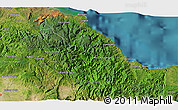 Satellite 3D Map of Baracoa