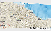Shaded Relief 3D Map of Baracoa
