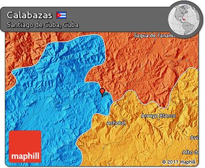Political Map of Calabazas