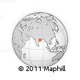Outline Map of Titilagarh, rectangular outline