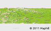 Physical Panoramic Map of Kutri