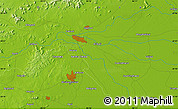 """Physical Map of the area around 20°22'55""""N,85°55'30""""E"""