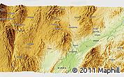 Physical 3D Map of Wān Köng