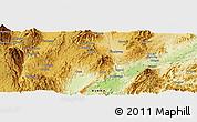 Physical Panoramic Map of Wān Köng