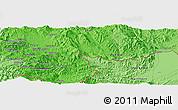 Political Panoramic Map of Möng Htā-lāng