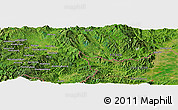 Satellite Panoramic Map of Möng Htā-lāng