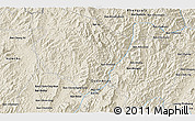 Shaded Relief 3D Map of Ban Chanmai