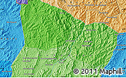 Political Map of Ban Chanmai