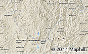 """Shaded Relief Map of the area around 20°53'8""""N,102°4'29""""E"""