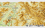 """Physical 3D Map of the area around 20°53'8""""N,102°55'30""""E"""