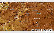 """Physical 3D Map of the area around 20°53'8""""N,102°46'30""""W"""