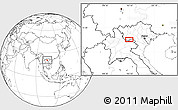 """Blank Location Map of the area around 20°53'8""""N,103°46'30""""E"""