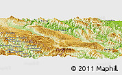 Physical Panoramic Map of Ban Houayngeum (2)