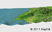 "Satellite Panoramic Map of the area around 20°53'8""N,105°19'29""W"