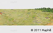 Satellite Panoramic Map of Bạch Sam