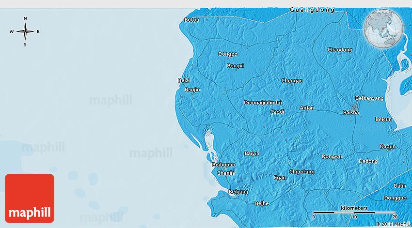Political D Map Of Fuchu - Fuchu map