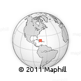 """Outline Map of the Area around 20° 53' 8"""" N, 73° 52' 30"""" W, rectangular outline"""