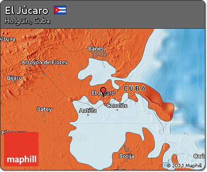 Political Map of El Júcaro