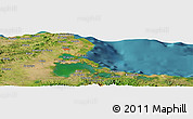 Satellite Panoramic Map of Cueto