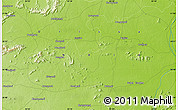"""Physical Map of the area around 20°53'8""""N,83°22'30""""E"""