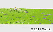 "Physical Panoramic Map of the area around 20° 53' 8"" N, 85° 55' 30"" E"