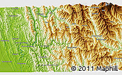 """Physical 3D Map of the area around 20°53'8""""N,93°34'29""""E"""