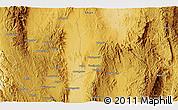 Physical 3D Map of Pankan